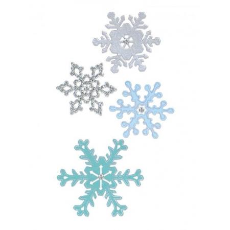 śnieżynki do sizzixa szablon do wycinania